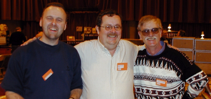 Martin Prior, myself and Terry Calleyne
